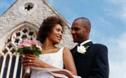 black-married-couple-at-church